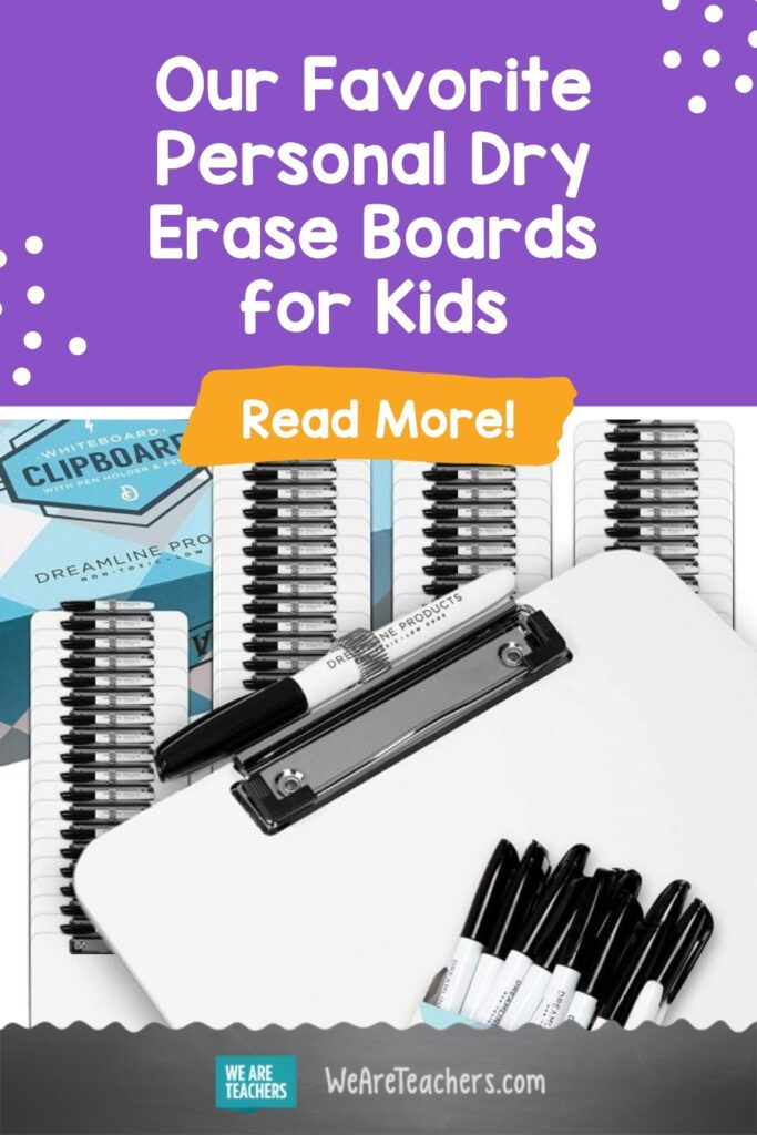 Our Favorite Personal Dry Erase Boards for Kids (Plus Lots of Ways to Use Them)