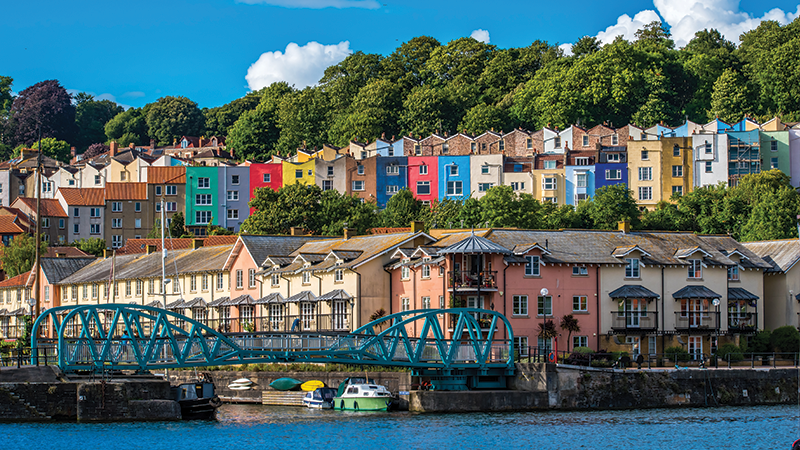 Paint the town in Bristol, England