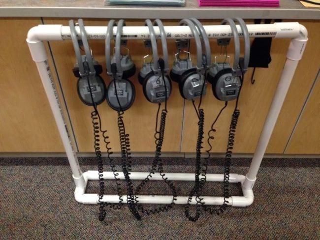 Earbud Storage Organized Classroom