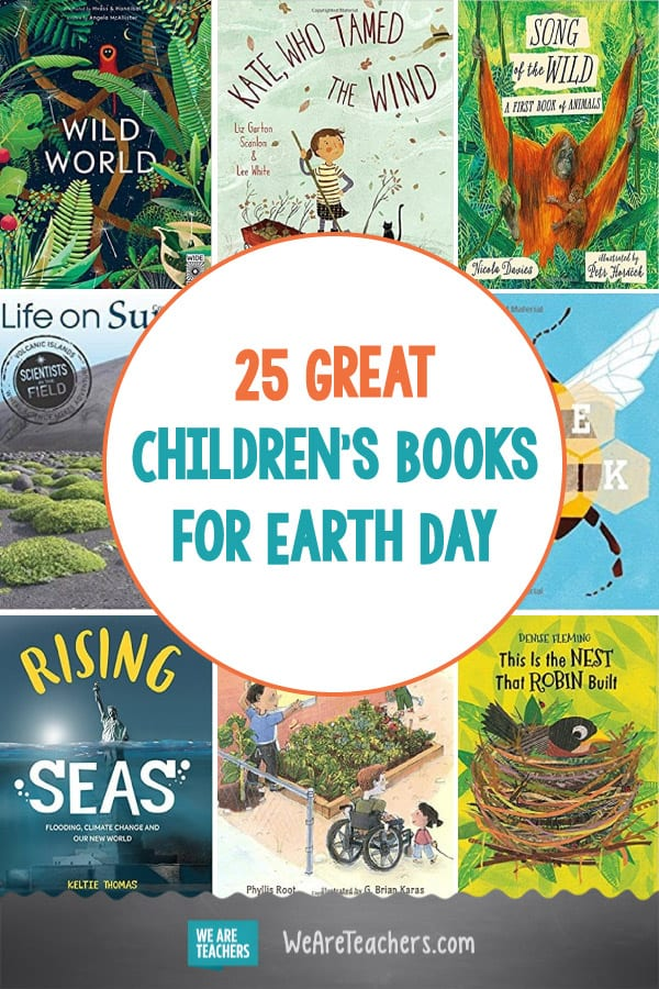 25 Great Children's Books for Earth Day