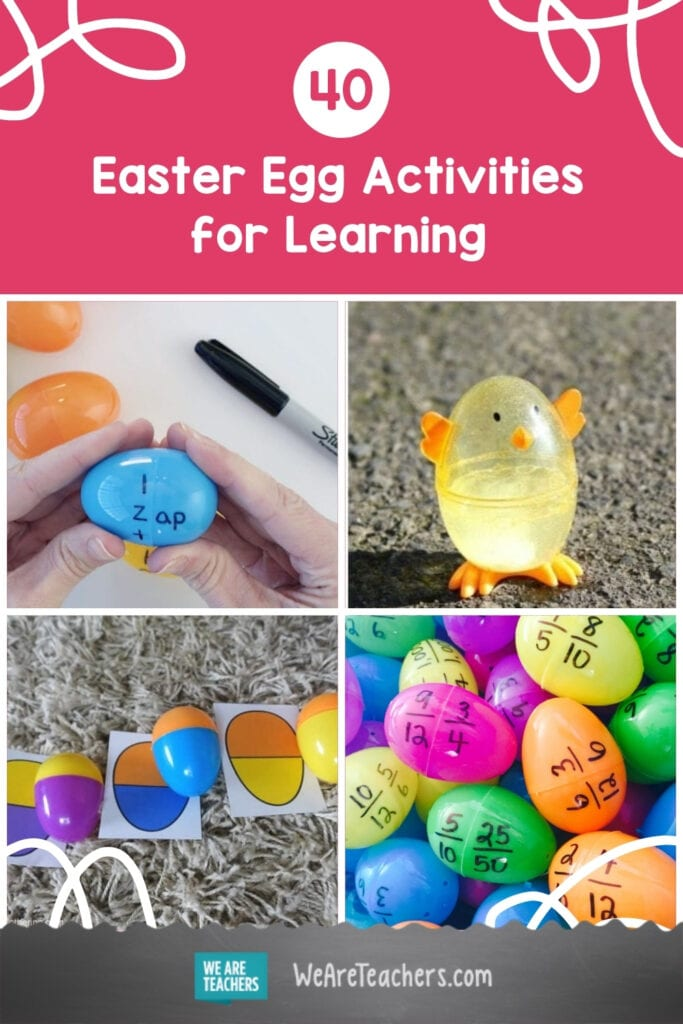 40 Really Cool Things to Do With Plastic Easter Eggs