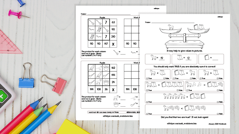 These Free EdHelper Math Worksheets Are Your New Go-To For Practice