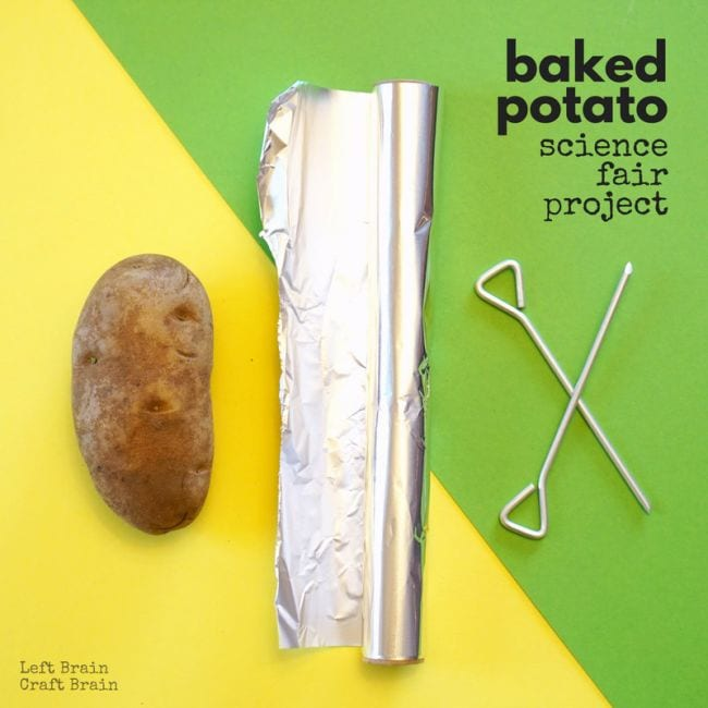 Edible Science Baked Potatoes