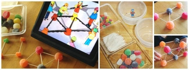 Edible Science Gumdrop Engineering
