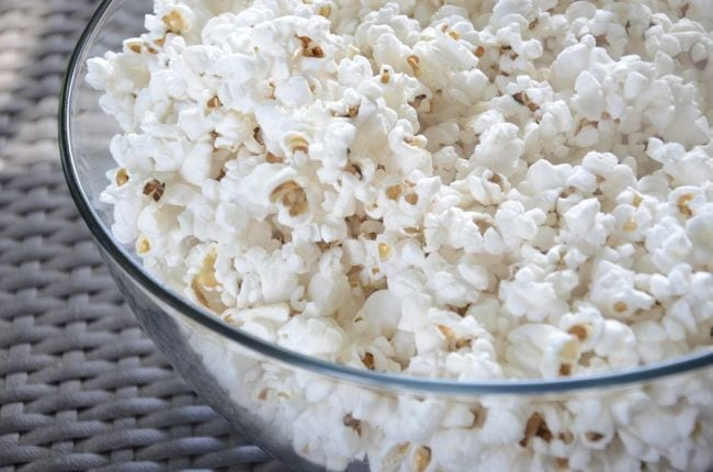Edible Science Popcorn