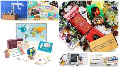 Collage of Educational Subscription Boxes