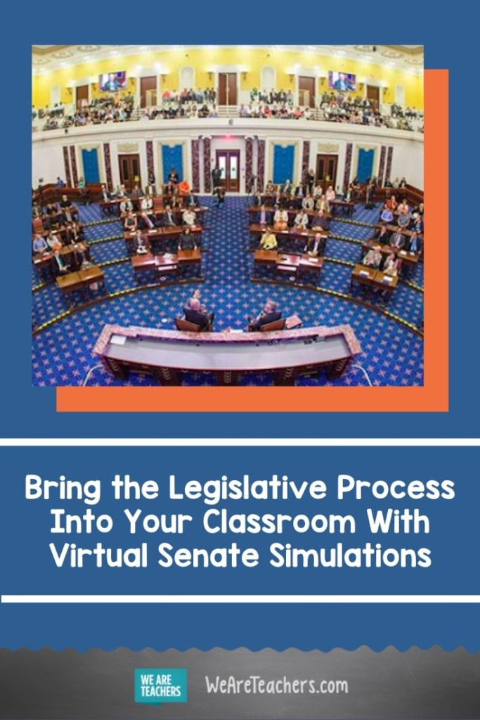 Bring the Legislative Process Into Your Classroom With Virtual Senate Simulations