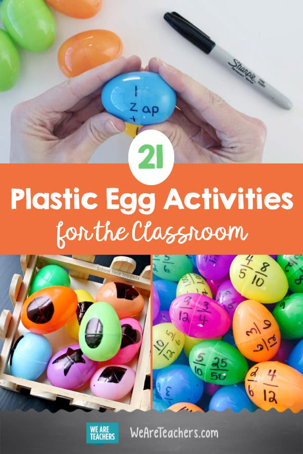 21 Plastic Egg Activities for the Classroom