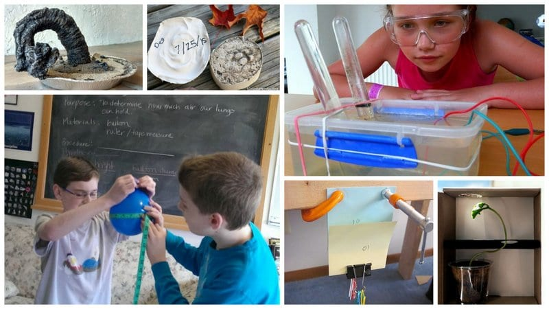 Collage of Best Eighth Grade Science Projects and Experiments