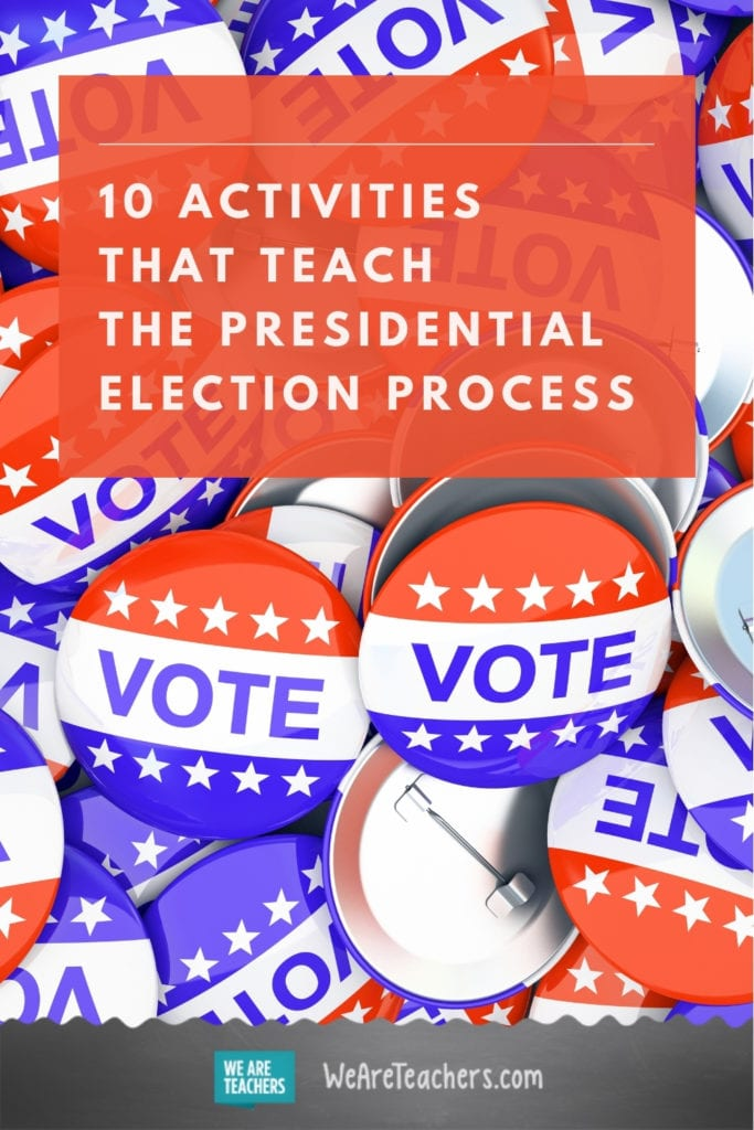10 Activities That Teach the Presidential Election Process