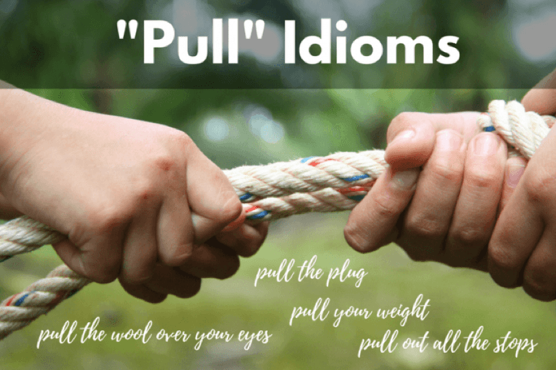 """Pull"" Idioms – Writing Mini-Lessons for the Interactive Projector"