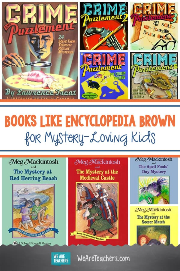 Books Like Encyclopedia Brown for Mystery-Loving Kids