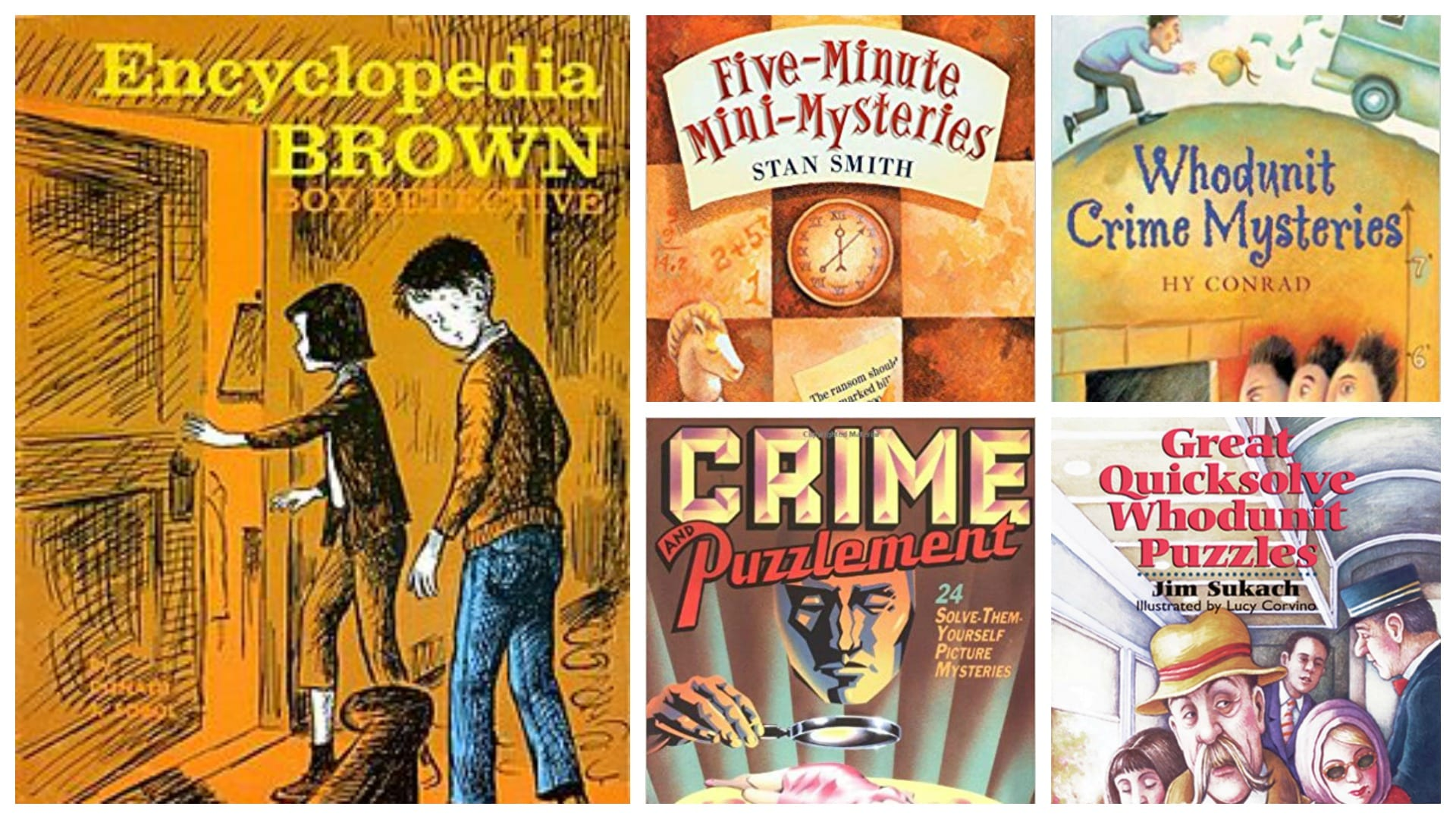 books like Encyclopedia Brown