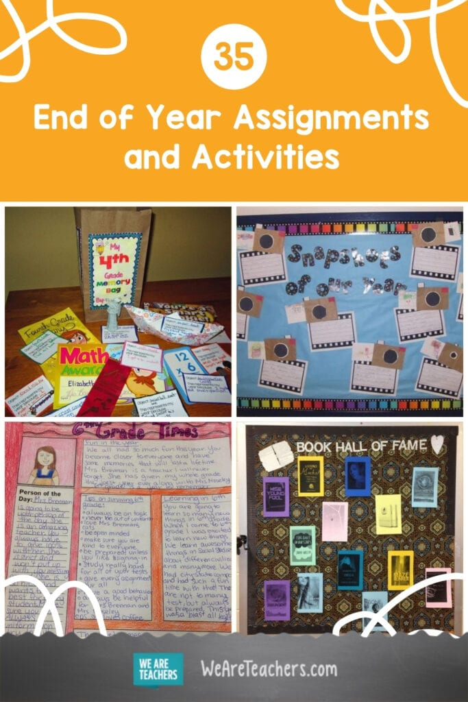 35 End of Year Assignments and Activities for Every Grade