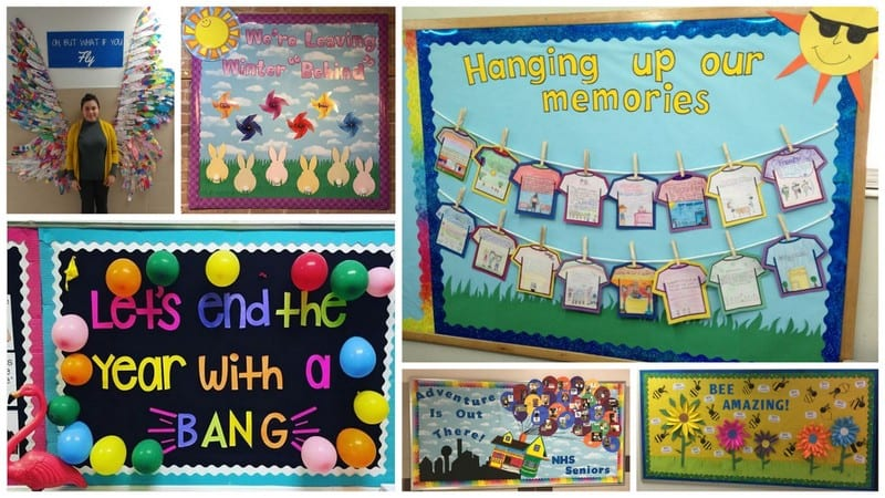 End-of-Year Bulletin Board Ideas