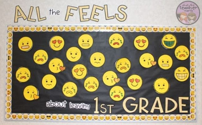 End-of-year bulletin boards