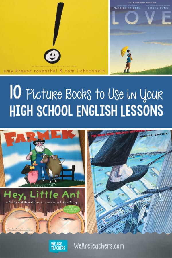 10 Picture Books to Use in Your High School English Lessons
