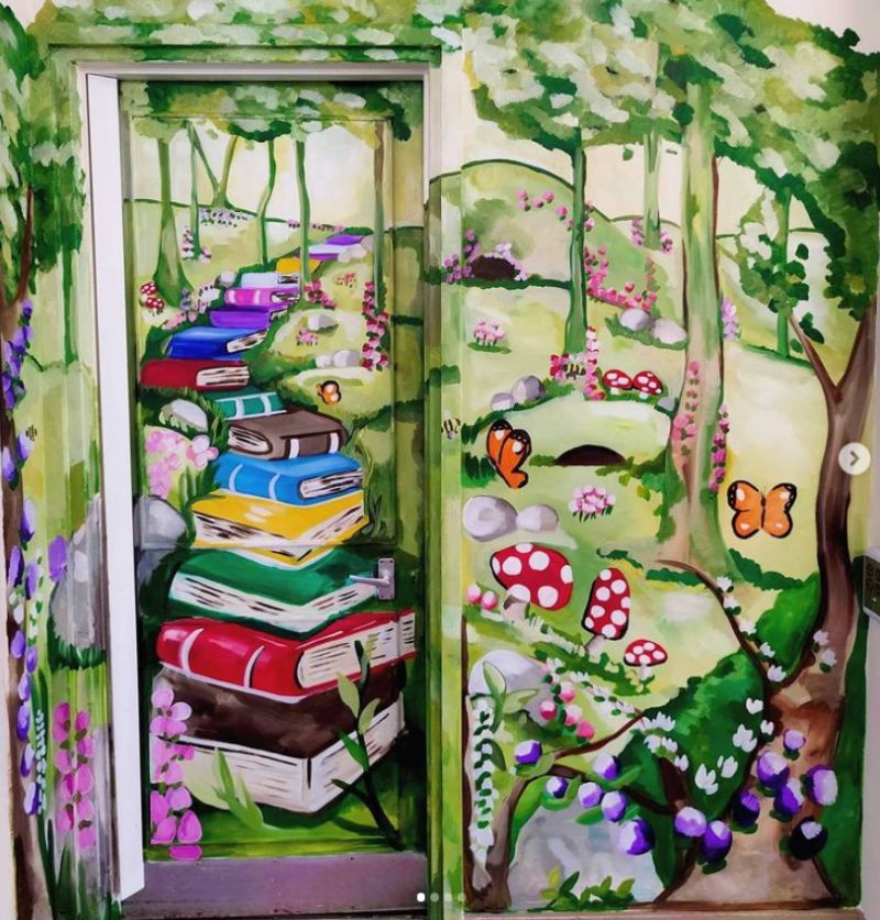 Enter a world of books
