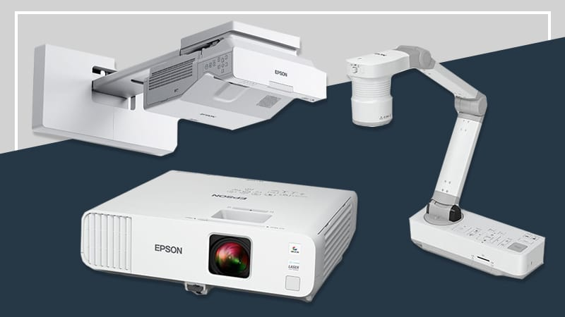 Enter to Win an Epson Interactive Display for your Classroom!