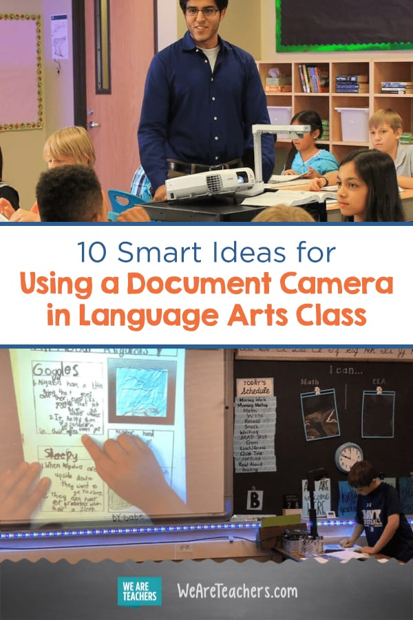 10 Smart Ideas for Using a Document Camera in Language Arts Class