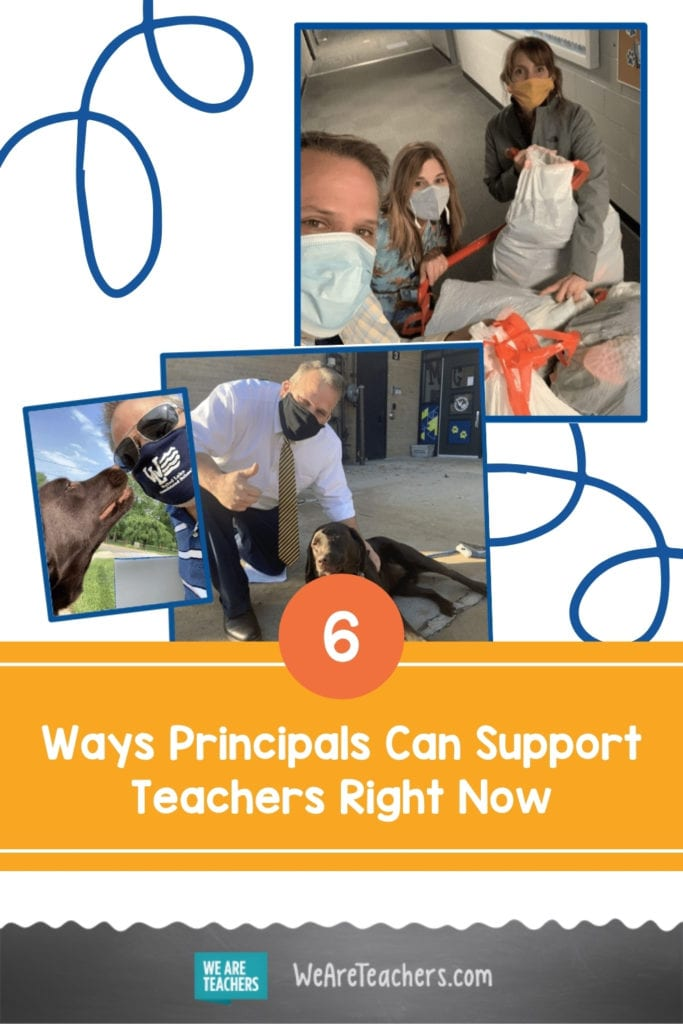 6 Ways Principals Can Support Teachers Right Now