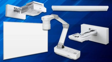 Epson Interactive Laser Display Package Valued at Over $4,000