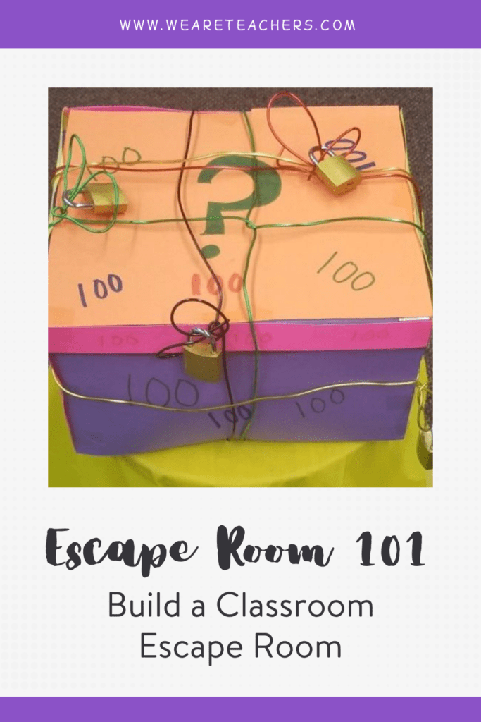 How to Set Up and Run a Classroom Escape Room