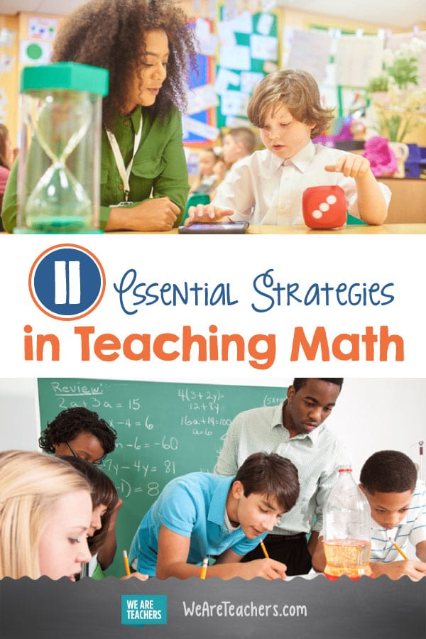 11 Essential Strategies in Teaching Math