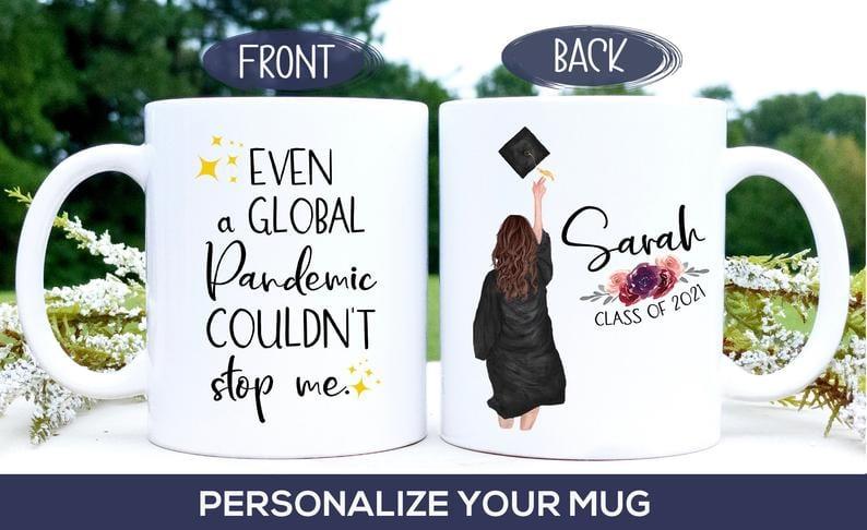 Custom graduation mug - -- best graduation gifts for students