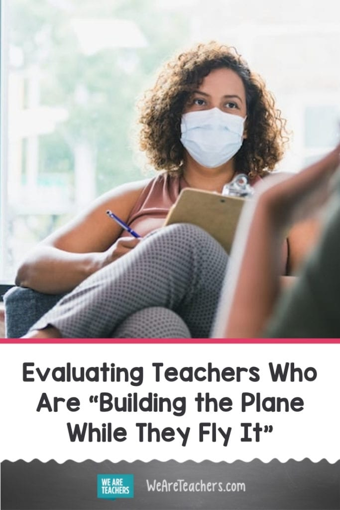 """Evaluating Teachers Who Are """"Building the Plane While They Fly It"""""""