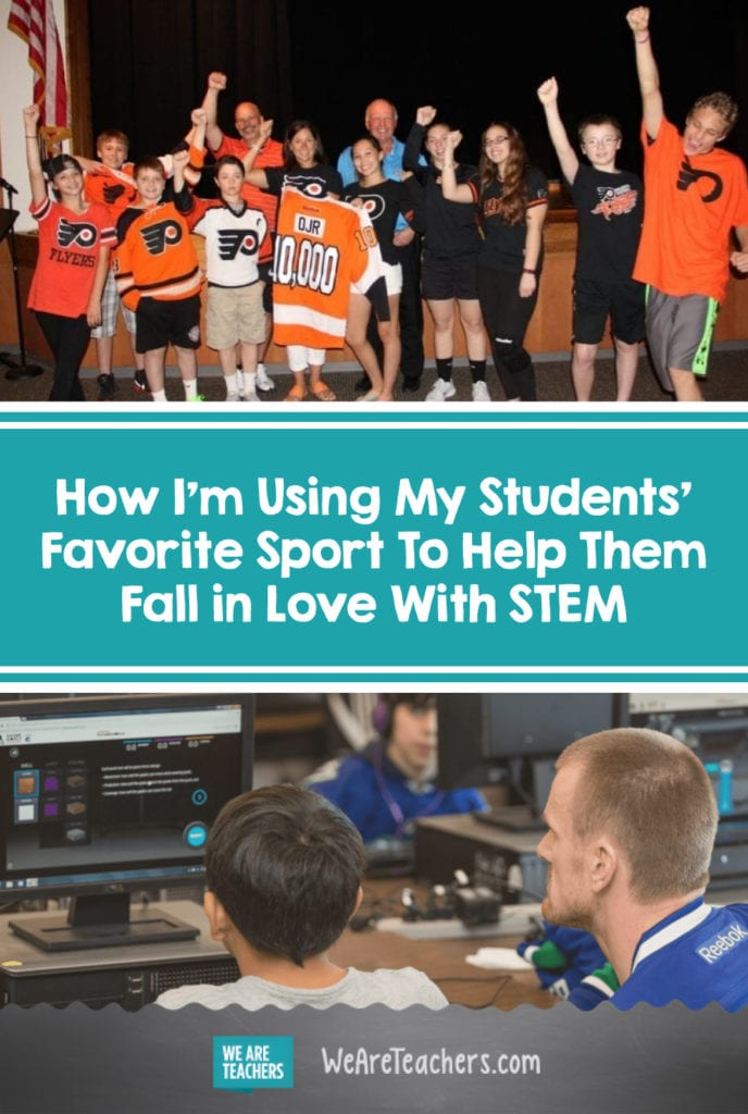 How I'm Using My Students' Favorite Sport To Help Them Fall in Love With STEM