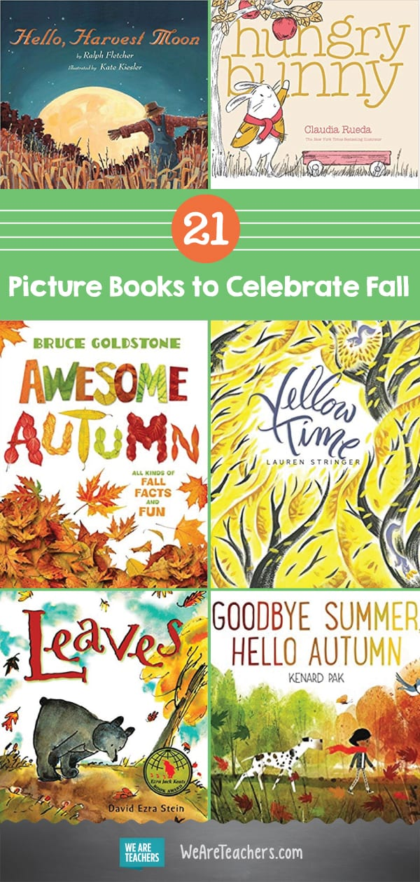 21 Picture Books to Celebrate Fall