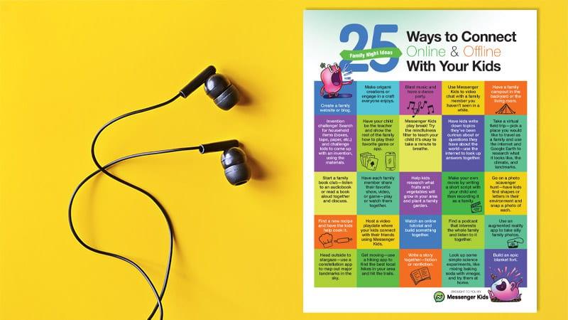 Free Printable: 25 Fun Family Night Ideas