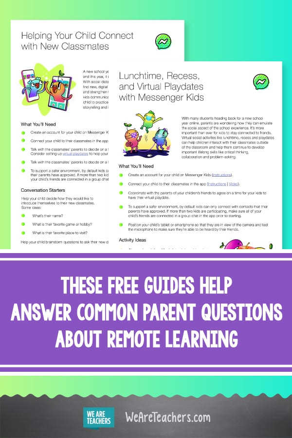 These Free Guides Help Answer Common Parent Questions About Remote Learning