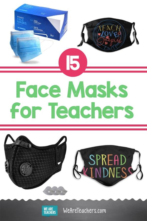15 Face Masks for Teachers We Love