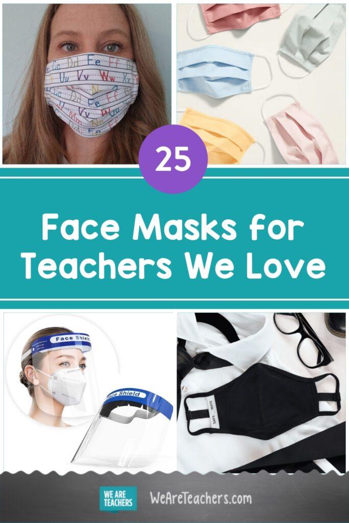 25 Face Masks for Teachers We Love