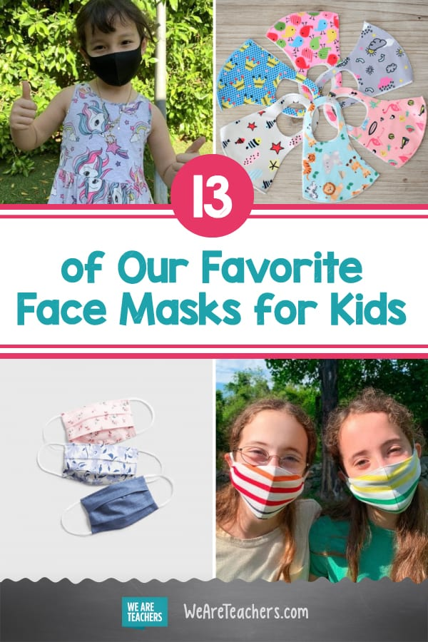13 of Our Favorite Face Masks for Kids
