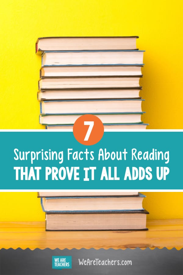 7 Surprising Facts About Reading That Prove It All Adds Up