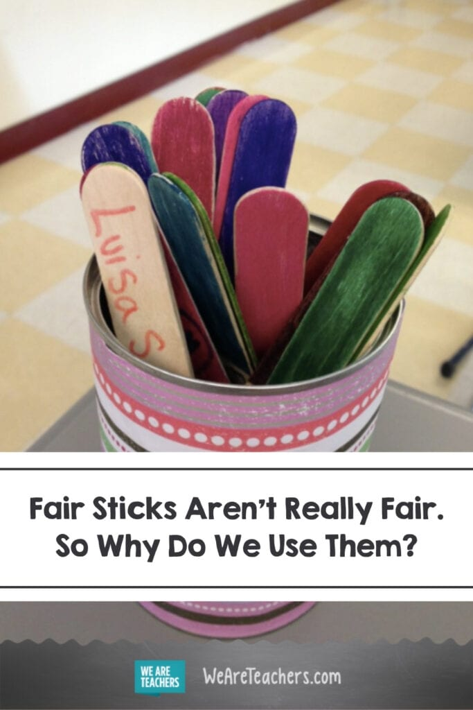 Fair Sticks Aren't Really Fair. So Why Do We Use Them?