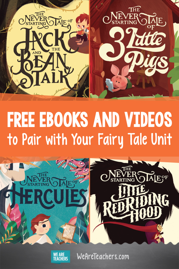 These Free Fairy Tale Storybooks Get Kids Thinking About Being Outdoors