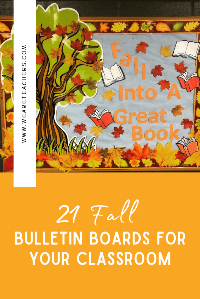 21 Fall Bulletin Boards and Door Decorations for Your Classroom