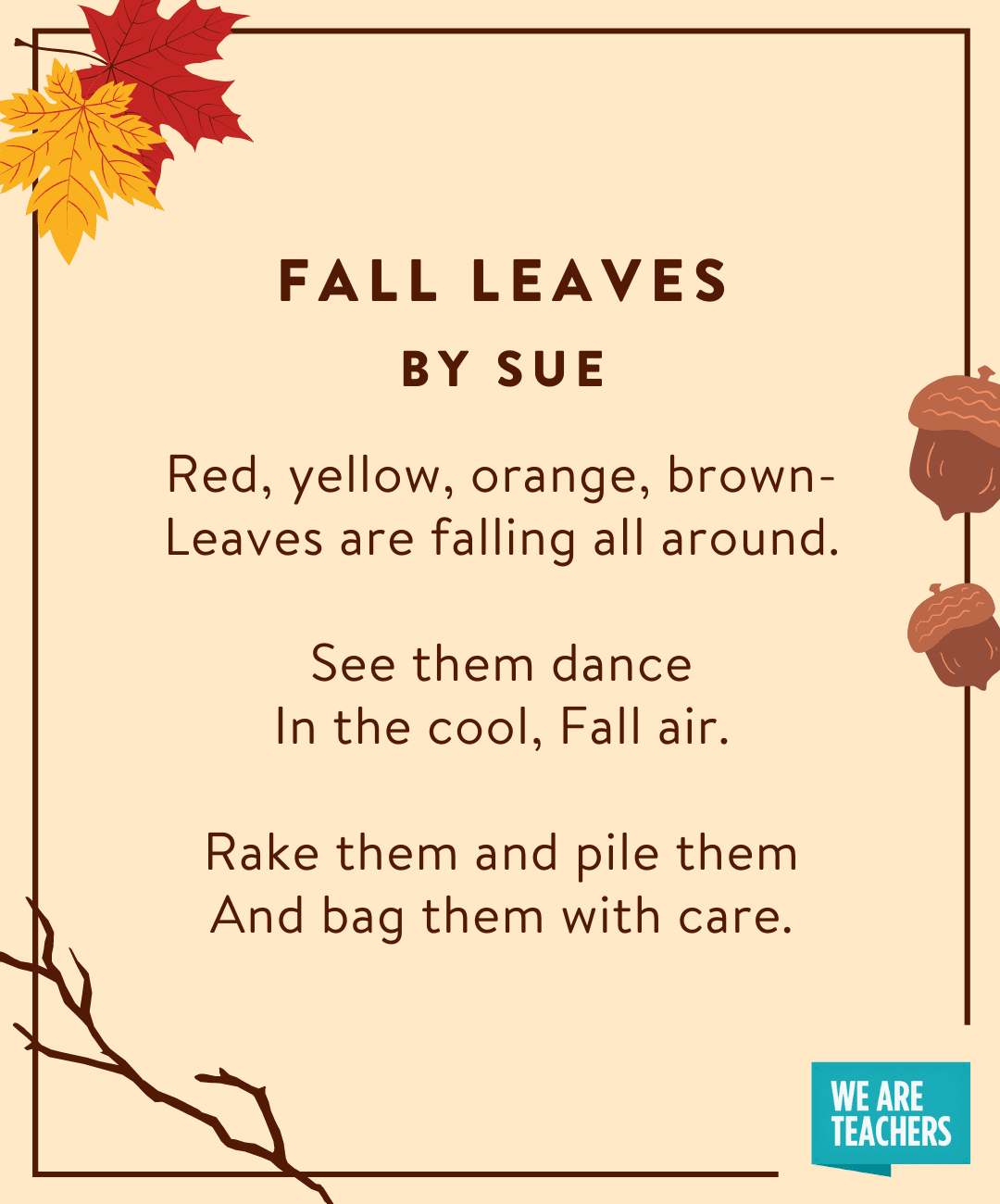 Fall Leaves by Sue
