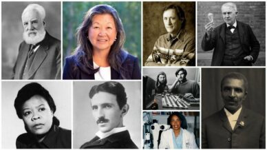 Collage of Famous Inventors Kids Should Know