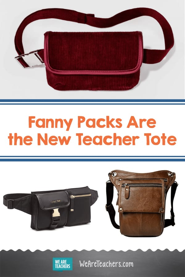 Fanny Packs Are the New Teacher Tote, and This Trend Gets High Fives From Us 🙌
