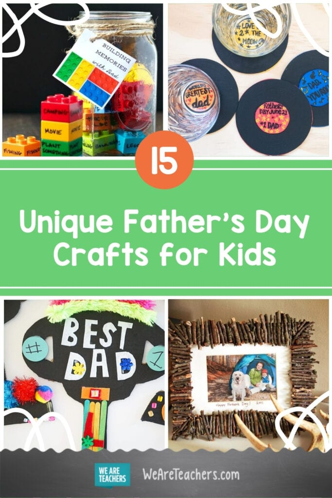 15 Unique Father's Day Crafts for Kids