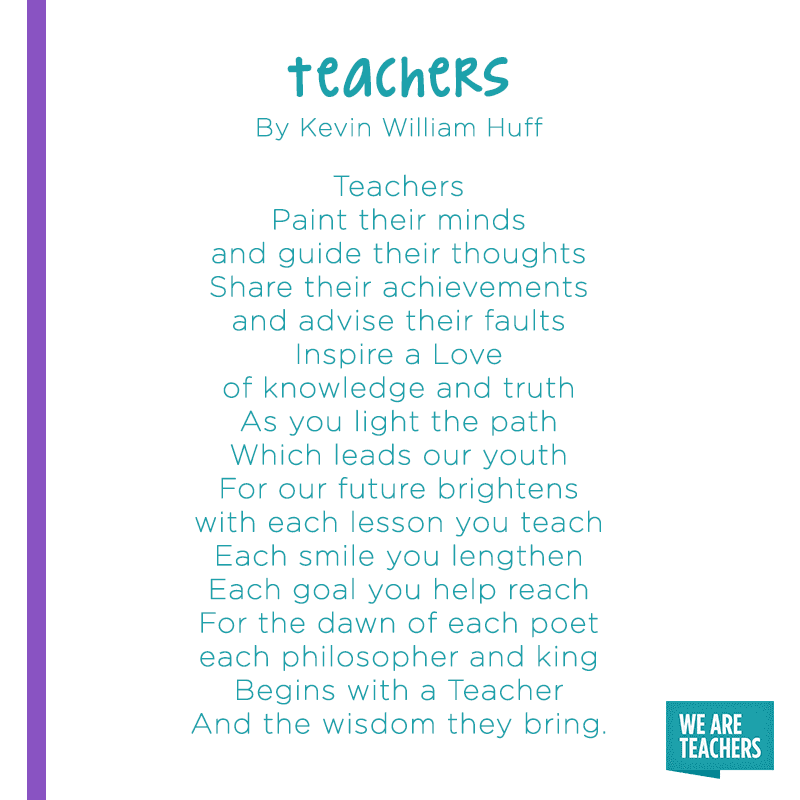 12 of Our Favorite Poems About Teaching - WeAreTeachers