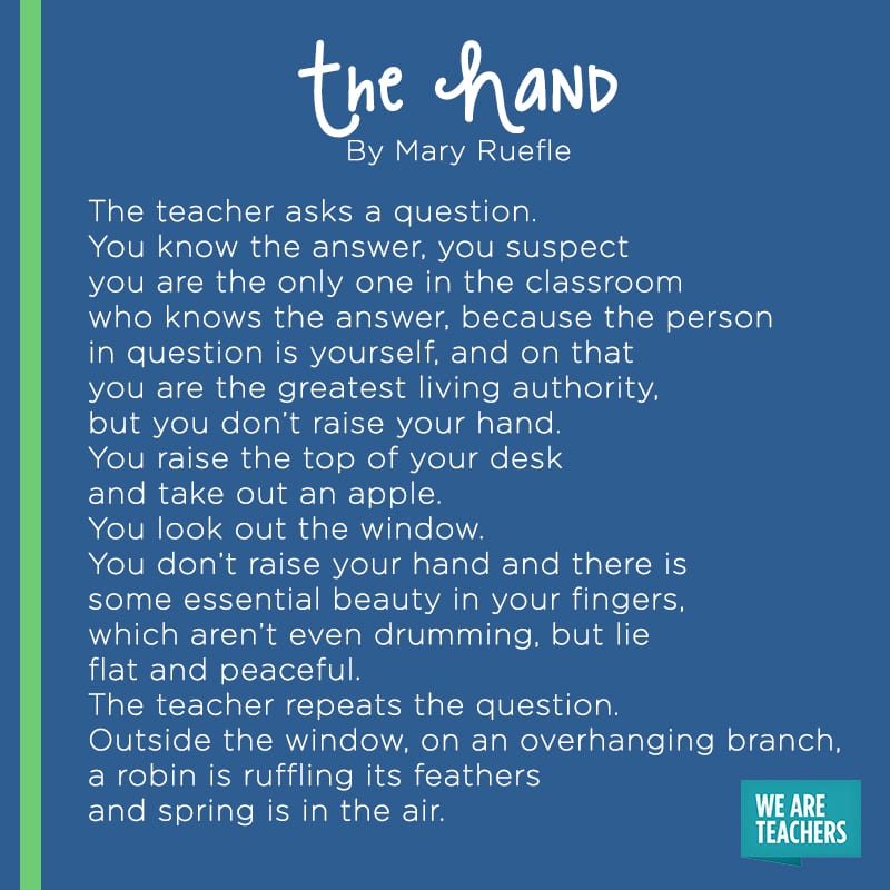 The Hand poem