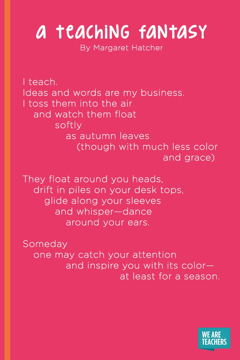 A Teaching Fantasy poem