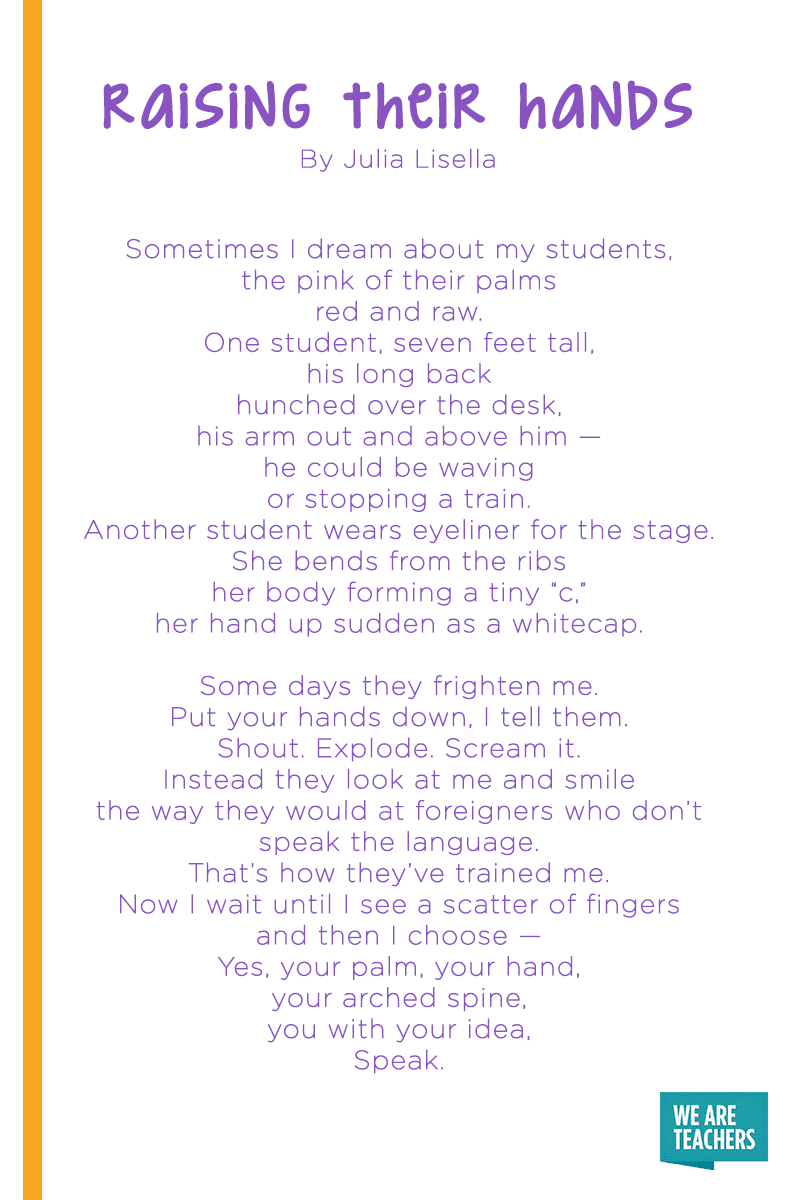 12 Of Our Favorite Poems About Teaching Weareteachers