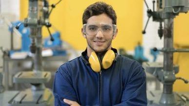 Trade School Student
